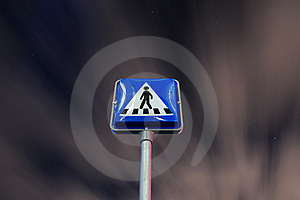 Pedestrian Crossing Royalty Free Stock Photography - Image: 21005837
