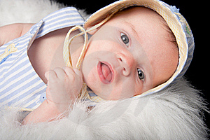 Curious Baby Boy Stock Photo - Image: 21008500