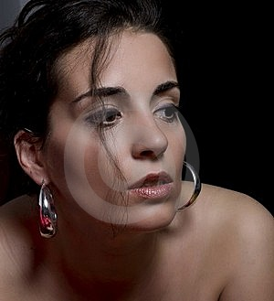Woman With Fine Lips Stock Photo - Image: 21008650