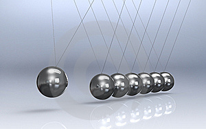 Newtons Cradle Royalty Free Stock Image - Image: 21010336