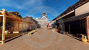 Japanese Castle Stock Photos - Image: 21010413