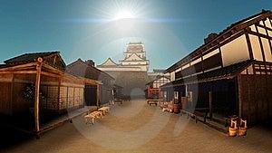 Japanese Castle Stock Photography - Image: 21010422