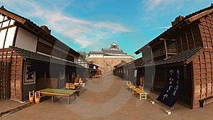 Japanese Castle Royalty Free Stock Photography - Image: 21010497