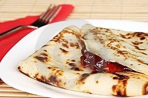 Fresh Pancakes In Menu Royalty Free Stock Images - Image: 21016889