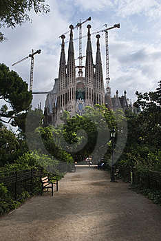 Sagrada Familia Stock Images - Image: 21019764