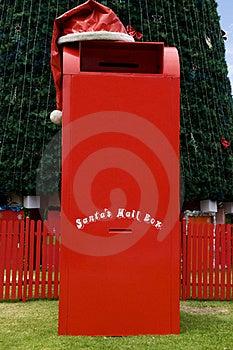 Santas Mail Box Royalty Free Stock Photography - Image: 21019857
