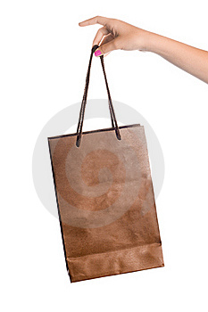 Paper Shopping Bag Stock Images - Image: 21020764