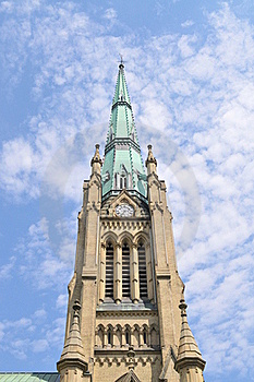 Church Tower Stock Image - Image: 21026121
