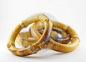 Bamboo Napkin Rings Royalty Free Stock Photo - Image: 21026285