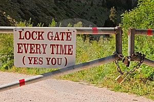 Lock Gate Stock Photos - Image: 21028893