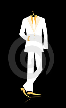 Man's Suit For Your Design Royalty Free Stock Photo - Image: 21039375