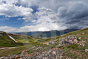 Rocky Mountains Stock Image - Image: 21039721