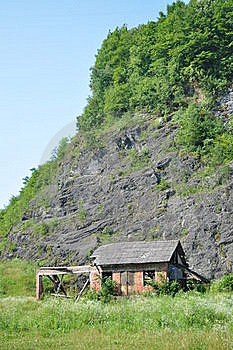 Mountain Hut Stock Images - Image: 21042014