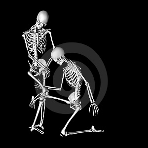Skeleton 76 Stock Images - Image: 21047444