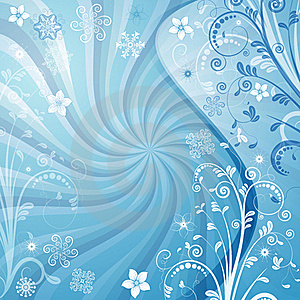 Gentle Vector Blue Christmas Frame Stock Photos - Image: 21066093