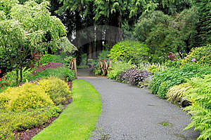 Tranquil Path Stock Images - Image: 21070024