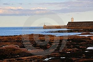 Harbour Mouth. Stock Images - Image: 21071314