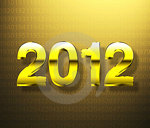 Year 2012 Stock Photo - Image: 21073050