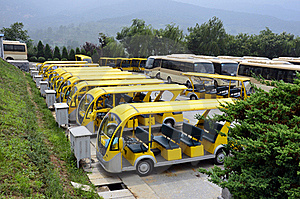 Electrical Buses Royalty Free Stock Photos - Image: 21082828