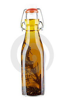 A Bottle Of Olive Oil Royalty Free Stock Image - Image: 21085456
