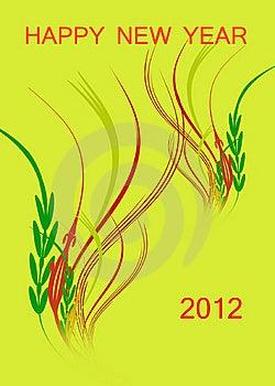 Happy New Years 2012 Stock Image - Image: 21088441