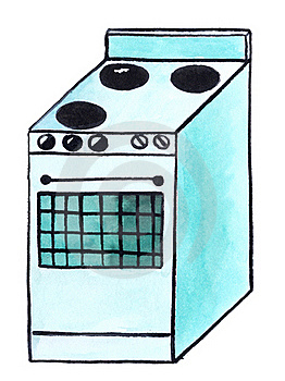 Electric Cooker (stove) Stock Image - Image: 21092241