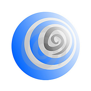 Creative Blue Icon Stock Images - Image: 21092604