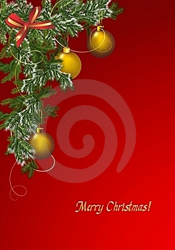 Christmas Greeting Card, Cdr Vector Royalty Free Stock Photography - Image: 21093667