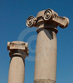 Greek Colums Royalty Free Stock Photo - Image: 21095105