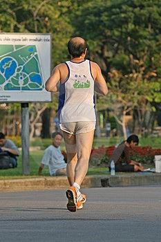 Man running Royalty Free Stock Images