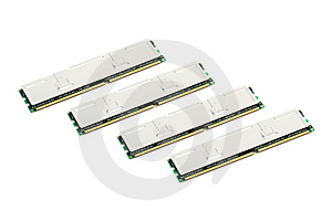 Modules Of Computer Memory Stock Photography - Image: 2115032