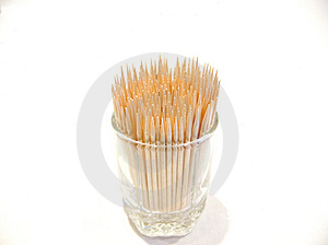Wooden Toothpicks Royalty Free Stock Photo - Image: 2115475