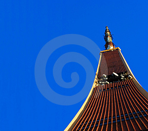 TV Tower On Blue Sky Stock Photography - Image: 2116292