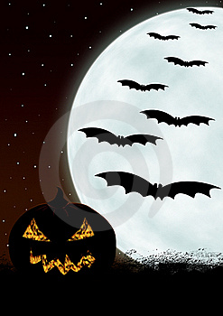 Halloween Card Royalty Free Stock Photography - Image: 21100477
