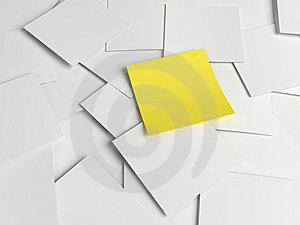 Reminder Notes Stock Images - Image: 21100854