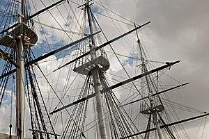 Mast And Sailboat Rigging Royalty Free Stock Photos - Image: 21106728