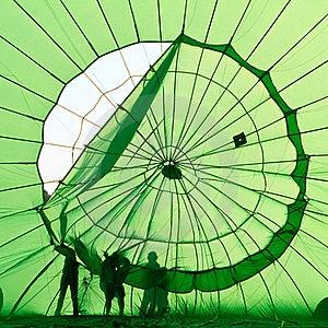 Hot Air Balloon Stock Photo - Image: 21106730