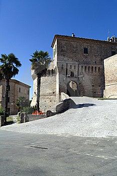 Castle Of Corinaldo Royalty Free Stock Image - Image: 21107366