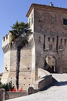 Castle Of Corinaldo Royalty Free Stock Images - Image: 21107549
