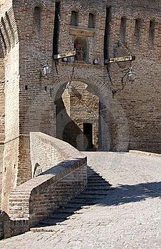 Castle Of Corinaldo Stock Photography - Image: 21107612