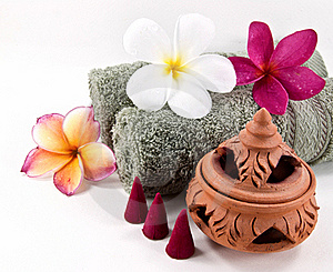 Spa Accessories Set 1 Royalty Free Stock Photography - Image: 21111067