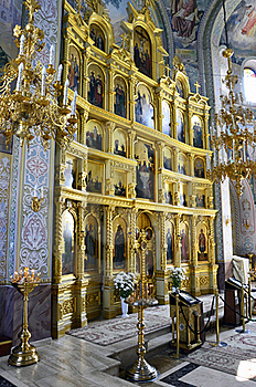 Orthodox Altar Stock Photography - Image: 21111132