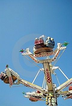 Fair Ride Stock Photo - Image: 21116530
