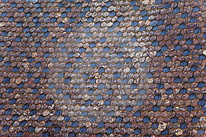 Old Tile Stock Photo - Image: 21125390
