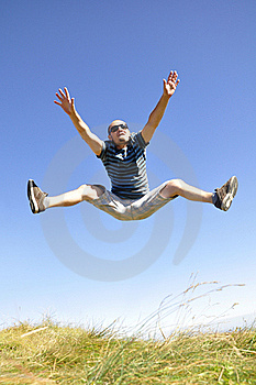Jumping In The Air Stock Photography - Image: 21128222