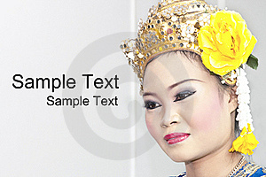Thai Cultural Show Royalty Free Stock Photos - Image: 21128988
