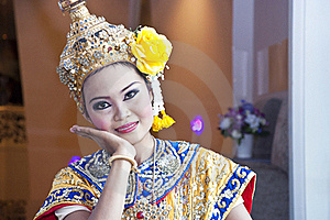 Thai Cultural Show Stock Photo - Image: 21129110