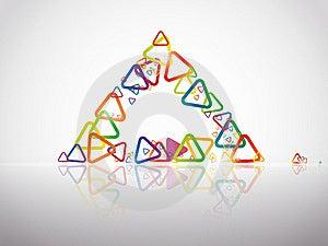 Triangle Stock Image - Image: 21130771