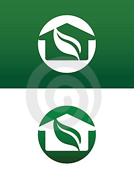 Round Green House Vector Illustration Stock Image - Image: 21133051