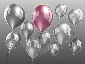 Balloons Royalty Free Stock Image - Image: 21133156